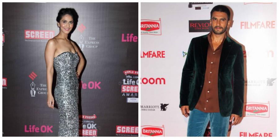 Vaani Kapoor and Ranveer Singh