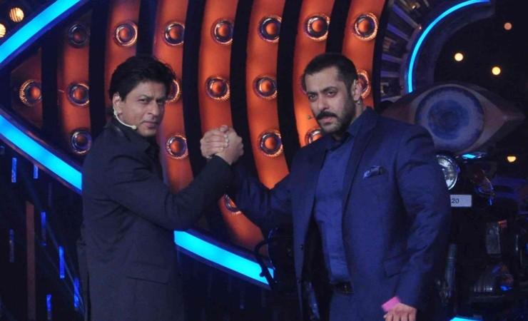 "Salman and Shah Rukh on ""Bigg Boss 9"""
