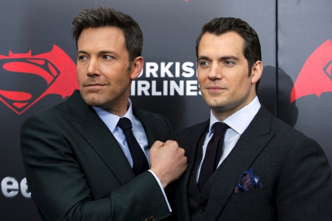 Ben Affleck and Henry Cavill at the New York premiere