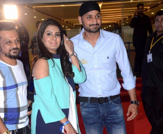 Geeta Basra and Harbhajan Singh spotted at the opening ceremony of IPL