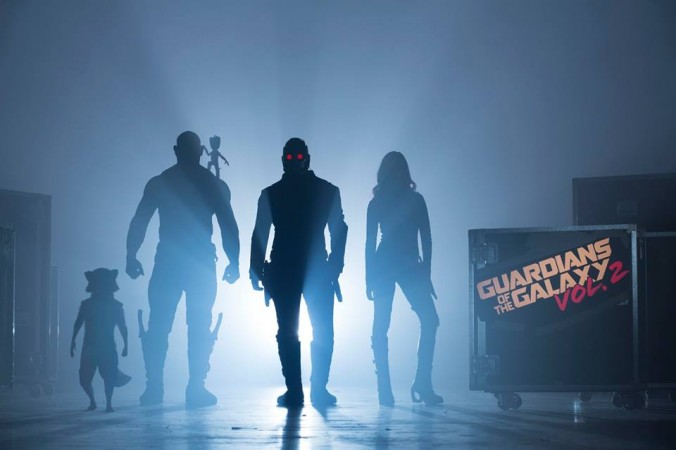Guardians of the Galaxy Vol. 2 teaser poster featuring Star-Lord