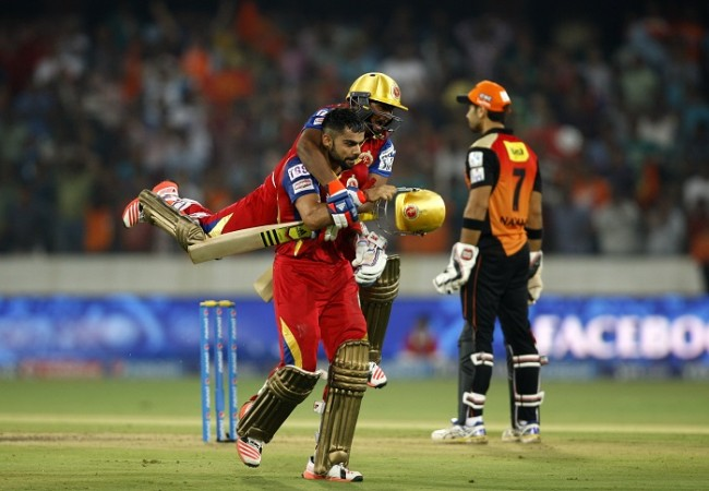 Virat Kohli Sarfaraz Khan Sunrisers Hyderabad RCB