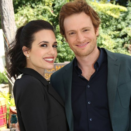 Torrey DeVitto and Nick Gehlfuss as Dr. Manning and Dr. Halstead