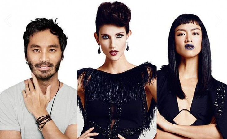 Judges of Asia's Next Top Model