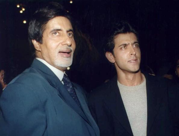 Amitabh Bachchan and Hrithik Roshan