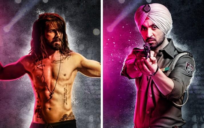 "Shahid and Diljit's ""Udta Punjab"" character posters"