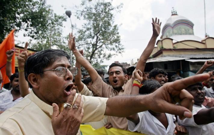 Brahmins protest