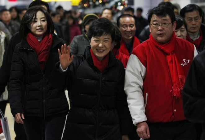 South Korea elections Park Geun-hye