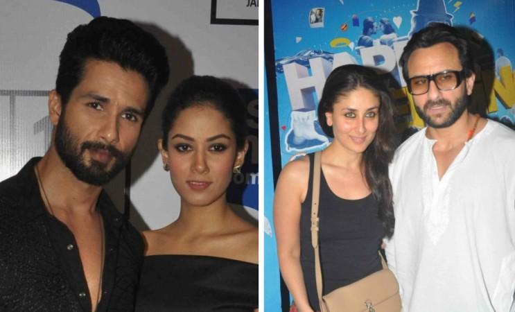 Shahid Kapoor-Mira Rajput and Kareena Kapoor-Saif Ali Khan