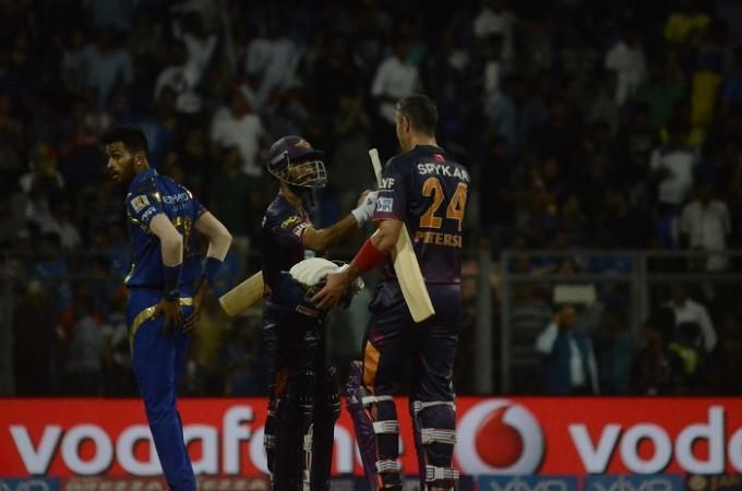 Pandya Rahane Pietersen Mumbai Indians RPS