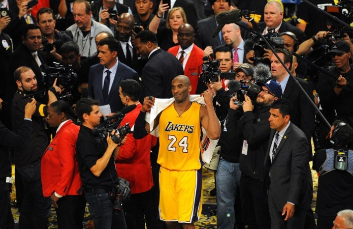 Kobe Bryant LA Lakers last game