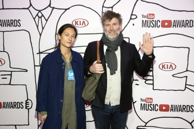 Christina Topsoe and James Murphy of LCD Soundsystem