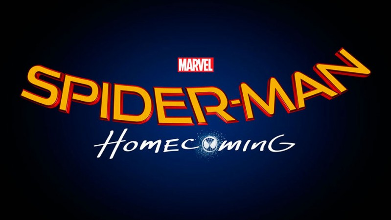 'Spider-Man: Homecoming' official title card