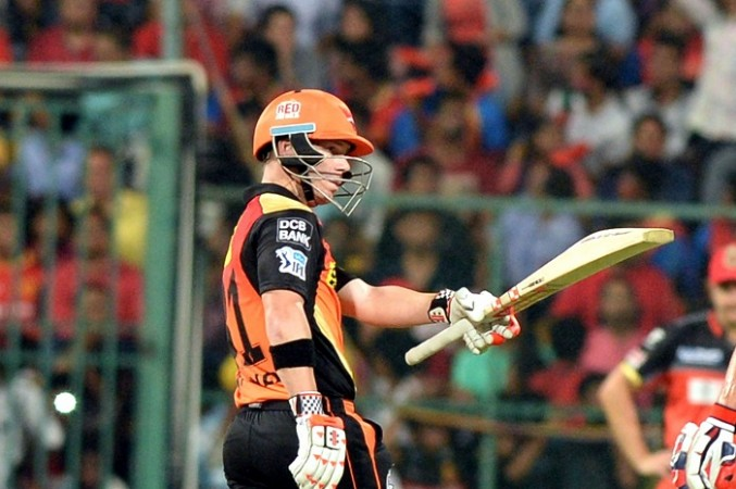David Warner Sunrisers Hyderabad