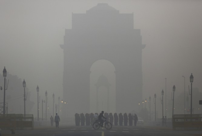 DELHI AIR POLLUTION,