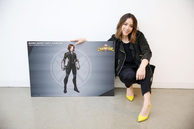 Chloe Bennet is not happy with Marvel's treatment