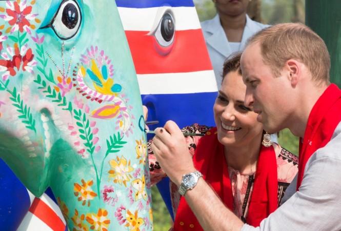 Kate Middleton paints