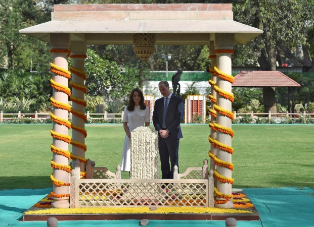Kate Middleton and Prince William at Gandhi Smriti in New Delhi
