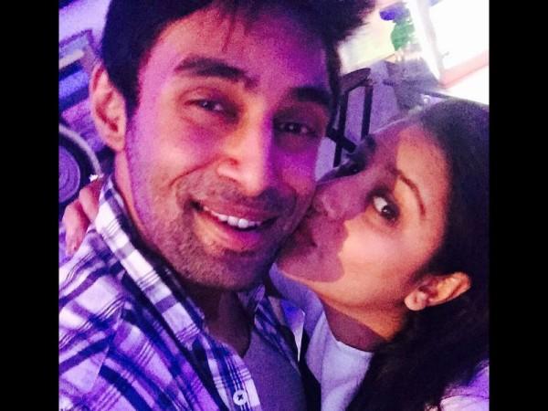 """Bombay HC adjourns Pratyusha Banerjee's boyfriend Rahul Raj Singh bail plea."" Pictured: Pratyusha Banerjee with Rahul Raj Singh"
