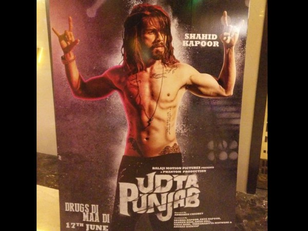 Shahid Kapoor in Udta Punjab