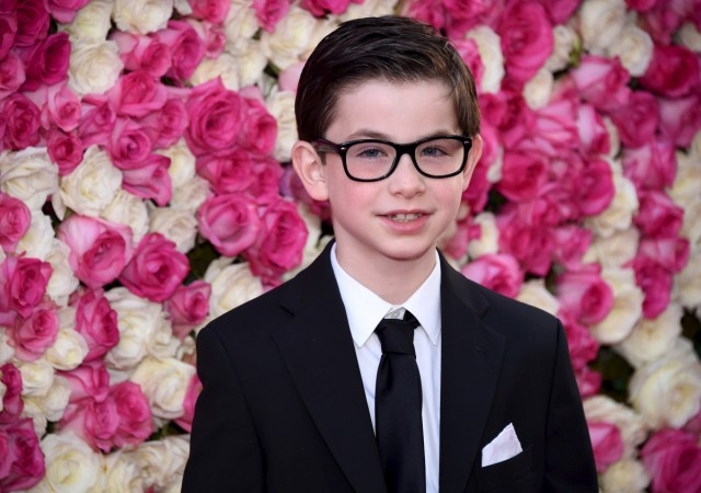 Owen Vaccaro attends the premiere of