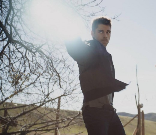 Luke Mitchell as Lincoln Campbell in 'Agents of SHIELD'