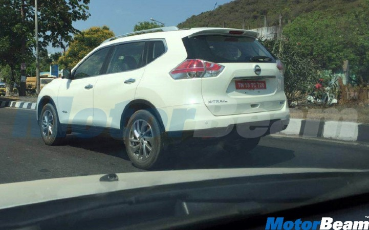 Nissan X-Trail snapped on Indian roads for the first time