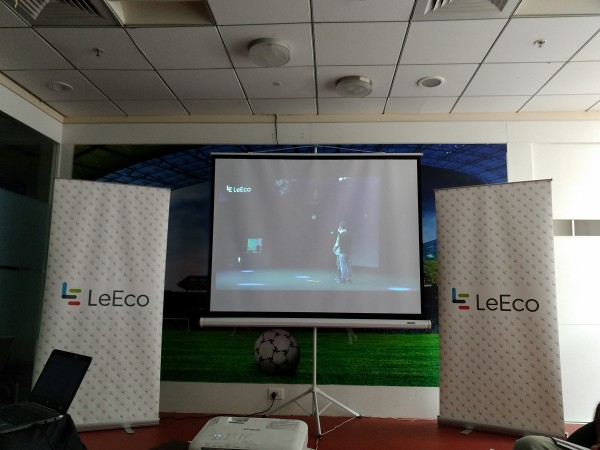 LeEco launch event live from Beijing