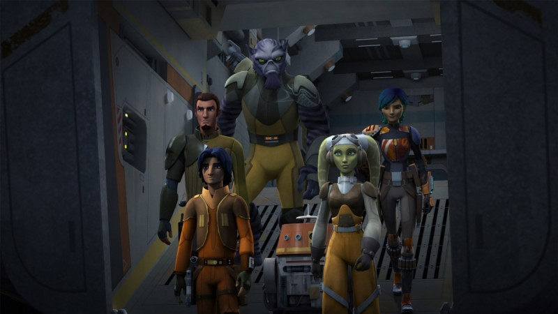 Star Wars Rebels Season 3 Trailer Released