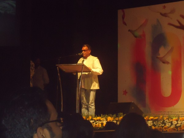 Nassar speaks during Charlie Success Celebration