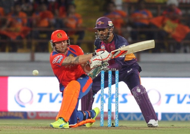 Brendon McCullum Gujarat Lions MS Dhoni RPS