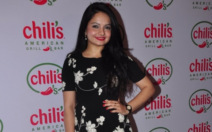 "Gia Manek and ""Saath Nibhaana Saathiya"" producer Rashmi Sharma patch up. Gia Manek during Ruslaan Mumtaz and Nirali's 1st wedding anniversary at the Chili's American Grill and Bar in Mumbai in 2015"