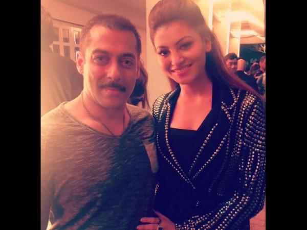 Salman Khan and Urvashi Rautela
