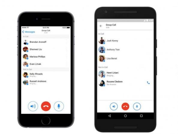 Facebook Messenger app gets group call feature