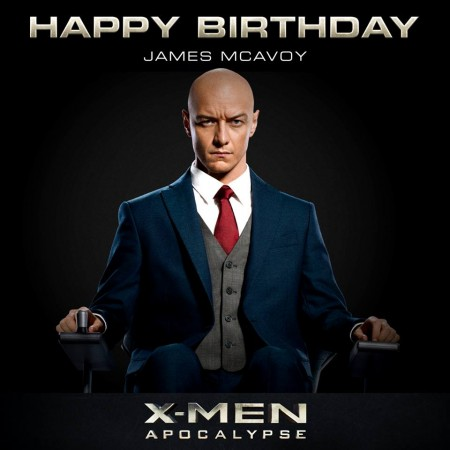 James McAvoy as Professor X