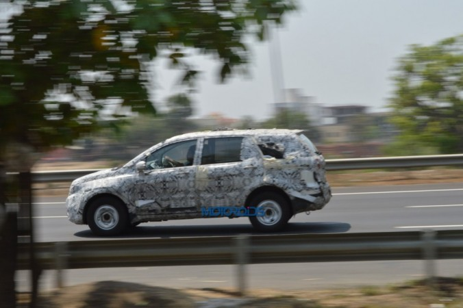 Tata Hexa spied testing ahead of rumoured June launch