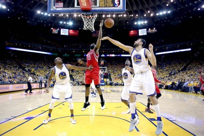 Warriors vs Rockets