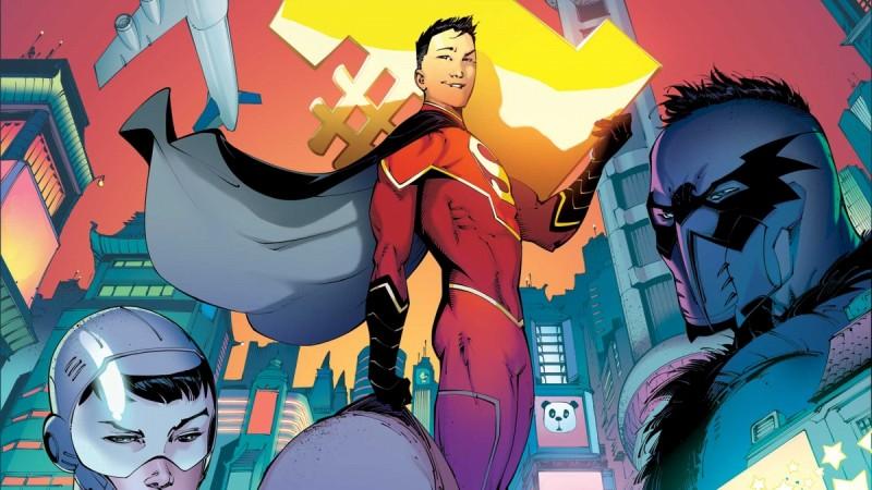 New Super-Man a.k.a. Kenan Kong