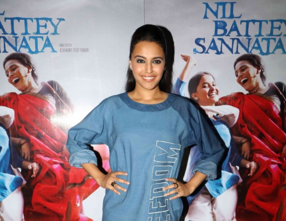 Swara Bhaskar at the special screening of