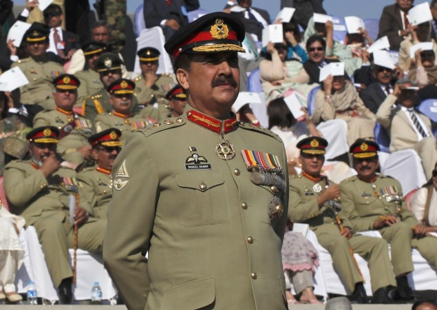 Pakistan Army Chief Raheel Sharif