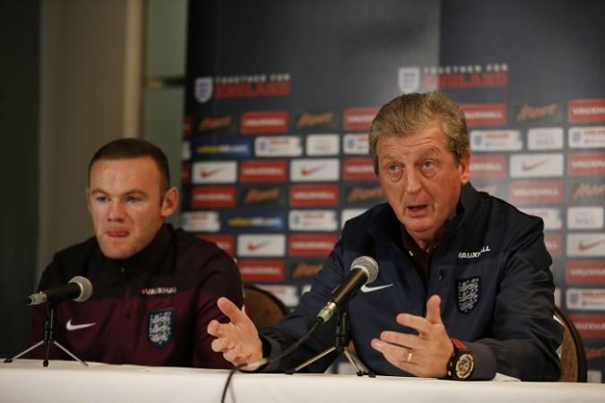 Wayne Rooney Roy Hodgson