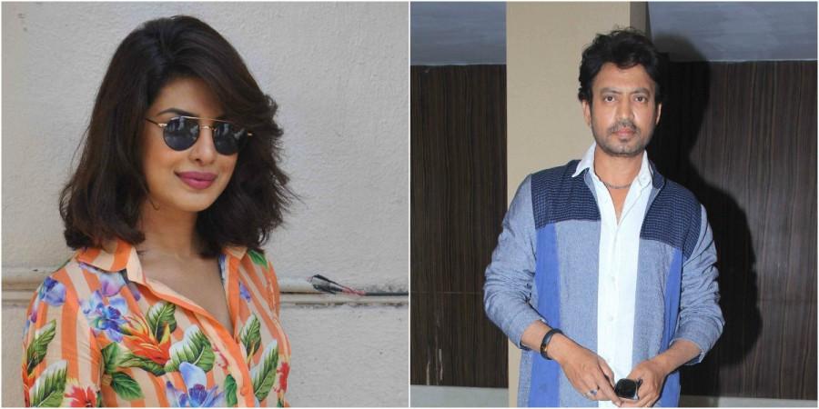 Priyanka Chopra, Irrfan Khan in 'Gustakhiyan'
