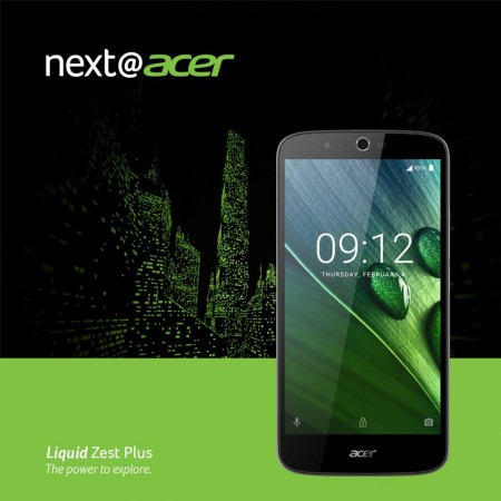 Acer launches affordable Liquid Zest Plus with a massive battery and superior camera