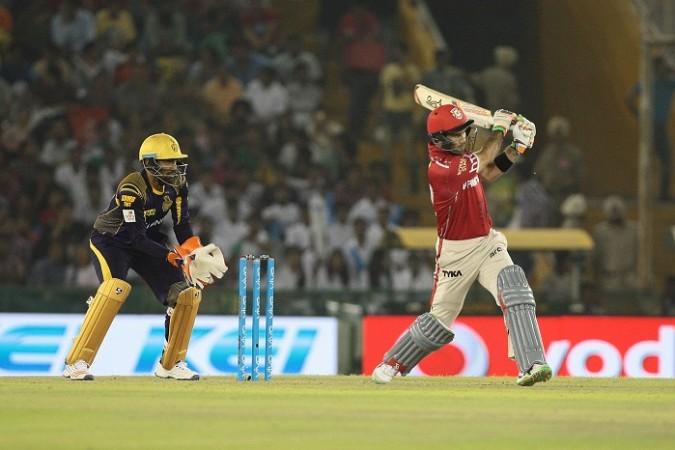 Robin Uthappa KKR Glenn Maxwell Kings XI Punjab