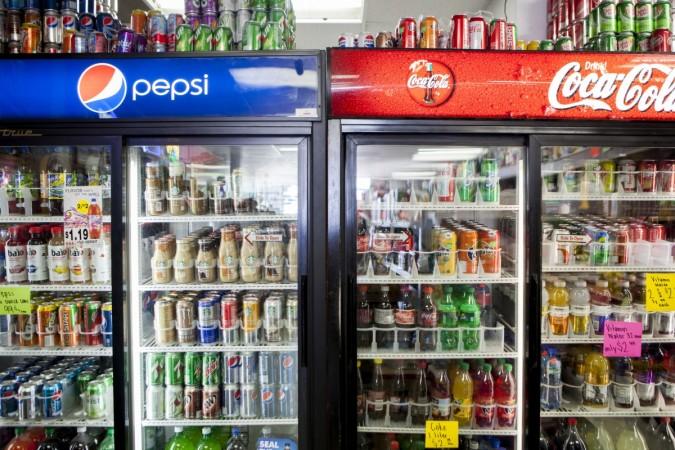 Coca Cola, Pepsi