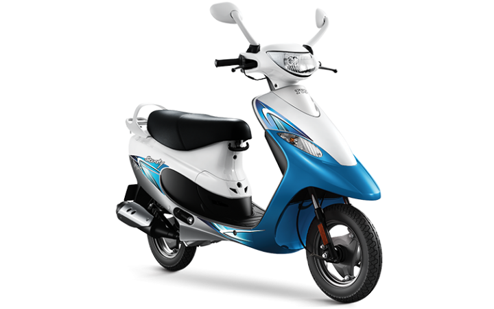 2016 TVS Scooty Pep  launched at Rs. 43,534