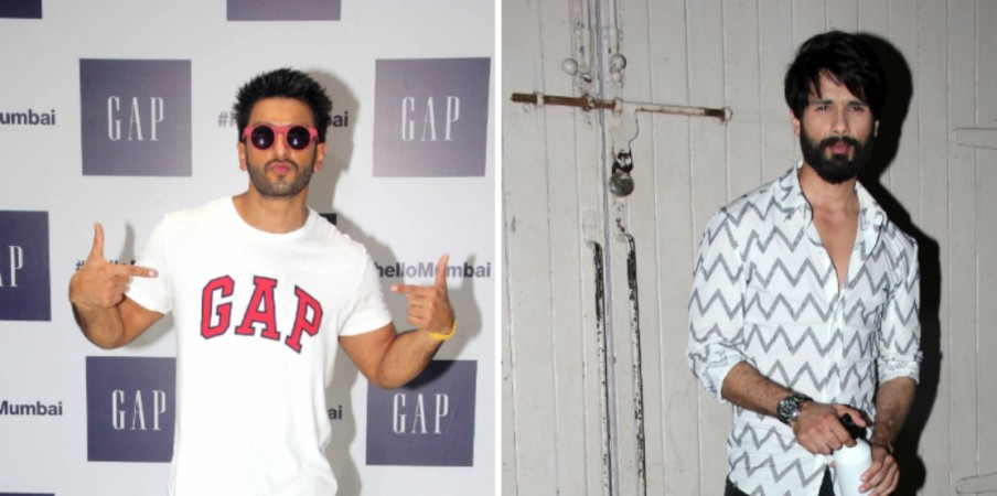 Shahid Kapoor as Ram and Ranveer Singh as Lakhan in Rohit Shetty-Karan Johar's combined project