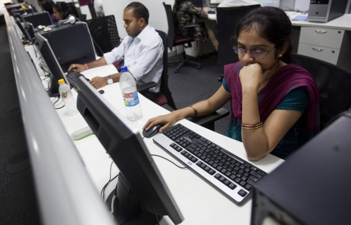 Employee working in Bangalore