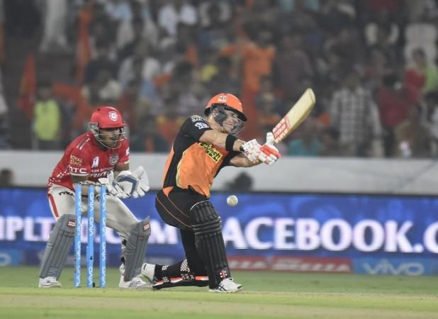 David Warner SRH Naik Kings XI Punjab