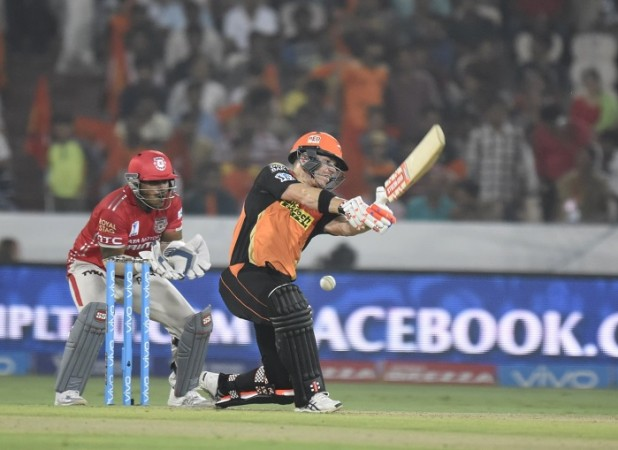 David Warner SRH Naik Kings XI Punjab